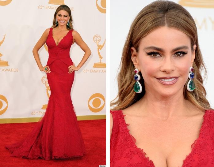 Make up con un vestito rosso