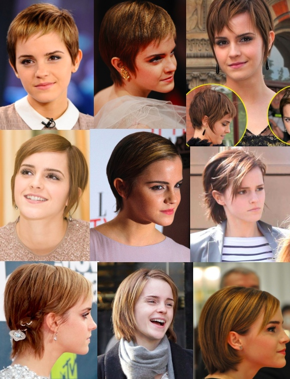 Come gestire capelli corti in crescita