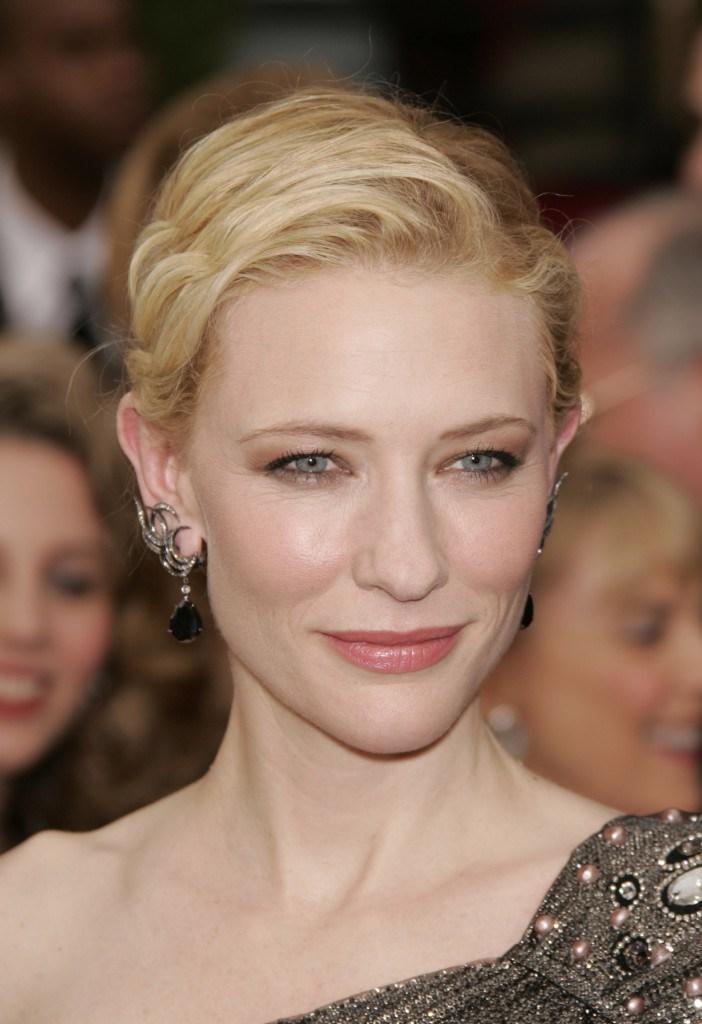 Cate Balnchett elegantissima anche con un makeup impercettibile!