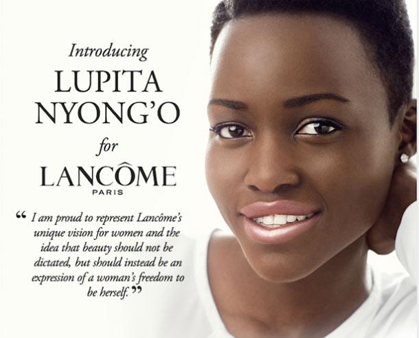 Lupita si è detta fiera di rappresentare questo brand