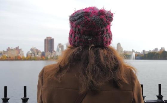 Ehm... ok la magia di Central Park in autunno... ma quel giorno l'umidità non ha risparmiato i miei poveri capelli! :D