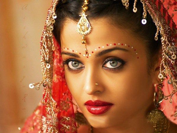 Aishwarya Ray nel film Devdas